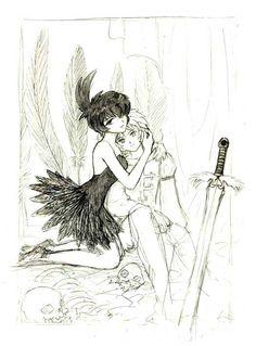 Princess Tutu Mytho Evil Raven | princess tutu tutu princess kraehe tutu mytho forward princess tutu ...