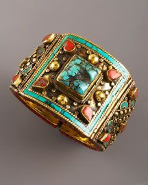 I stopped breathing for a moment - gorgeous cuff from Devon Leigh