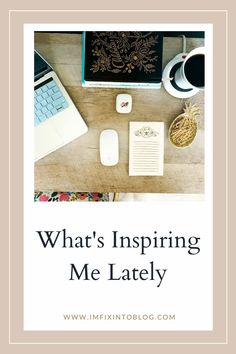 NC Blogger I'm Fixin' To shares articles, photos, and other ideas of what's been inspiring her lately. Check it out!