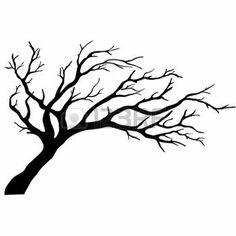 Scherenschnitt Baum Lizenzfreie Vektorgrafiken Kaufen