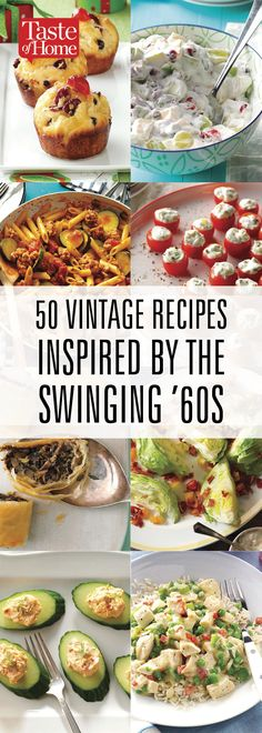 50 Vintage Recipes Inspired by the Swinging '60s