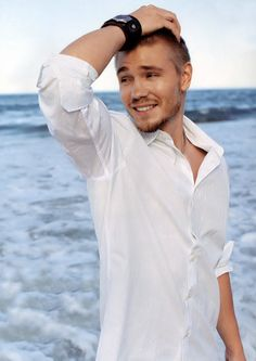 Chad Michael Murray I sat in front of him on Tower of Terror in Disney's California Adventure, and next to him in line for California screaming'.(: