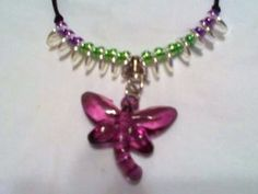 Dragonfly Choker. Made by special order for a friend.