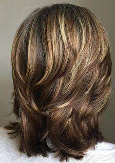 Medium Layered Haircuts, Medium Hair Cuts, Short Hair Cuts, Medium Hair Styles, Long Hair Styles, Medium Cut, Trendy Haircuts, Modern Haircuts, Thick Haircuts