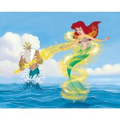 The Little Mermaid II and The Little Mermaid Ariel's Beginning Review ❤ liked on Polyvore featuring disney