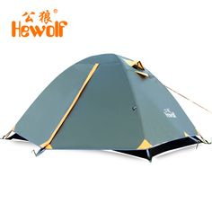 190*150*110cm Hewolf Camoing Tents Waterproof Ultralight Tents 2 People Camping Tent for Hiking Backpacking Fishing Tourist