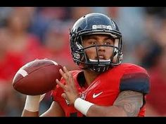 "Anu Solomon Freshman Highlights 2014 | Arizona Wildcats | ""Bigger"" 