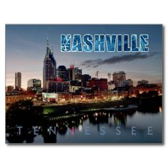 Downtown Nashville skyline, Tennessee at night Post Card online after you search a lot for where to buyHow to          	Downtown Nashville skyline, Tennessee at night Post Card lowest price Fast Shipping and save your money Now!!...