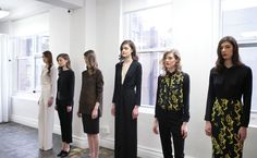 Behind the Scenes Feature // New York Fashion Week Fall 2013 | Hampden Clothing