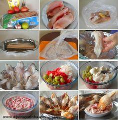 Espetinho de Peixe de forno