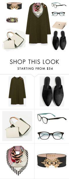 """look  working day"" by aliciagorostiza on Polyvore featuring moda, Novo, Kate Spade, Lulu Guinness y Balmain"