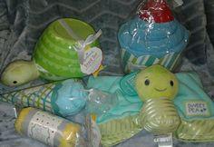 Hallmark 5 piece baby boy GIFT SET shower, newborn, toddler #Hallmark