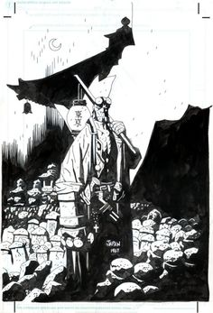 Hellboy, The Companion by Mike Mignola - Illustration