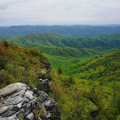 Blackstaff Cliffs Appalachian Trail, photo by Bryan Conley