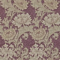 The wallpaper Chrysanthemum - 212549 from William Morris is wallpaper with the dimensions m x m. The wallpaper Chrysanthemum - 212549 belongs to the p Wine Wallpaper, Cream Wallpaper, Feature Wallpaper, Wallpaper Online, Fabric Wallpaper, Paisley Wallpaper, William Morris Wallpaper, Morris Wallpapers, Morris Tapet