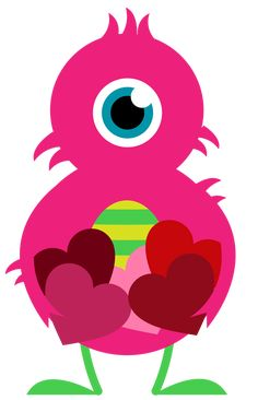 Need a Valentine Heart? Our Heart is filled with Cardamon, Chamomile, Clove, Peppermint Cartoon Monsters, Cute Monsters, Little Monsters, Doodle Monster, Little Monster Party, Monster Birthday Parties, Valentine Images, Valentines Art, Adopt A Monster