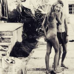 Jerry Hall e Mick Jagger