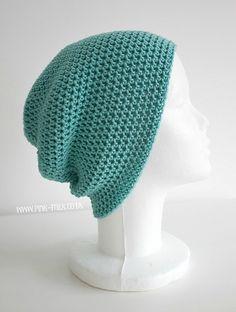 Jules Slouch Hat - free crochet pattern @ Pink Milk