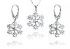 Stříbrná souprava - sněhové vločky 18 mm Engagement Rings, Jewelry, Enagement Rings, Wedding Rings, Jewlery, Jewerly, Schmuck, Jewels, Jewelery