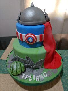 Tortas de Super héroes