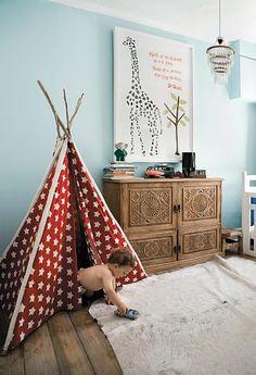 Habitación del bebé - DIY baby room decoration #Nonabox #Decoracion #cuartobebe