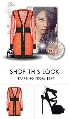 """Balmain x"" by xpinkplaymatex ❤ liked on Polyvore featuring Balmain and Casadei"