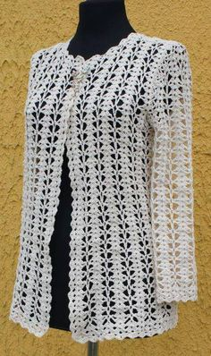 Crochet Knitting Handicraft: Jacket - photo tutorial and stitch diagram at site everything to create crochet garments - PIPicStats Crochet jacket in the style of Chanel. Discussion on LiveInternet - Russian Service Online Diaries Crochet knitting is one