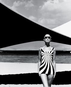 The New Mods - Models in visors by Layne Nielson from Rudi Gernreich's Resort collection, 1965. - The New York Times