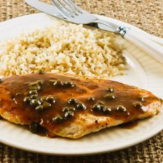 Kalyn's Kitchen®: Recipe for Sauteed Chicken Cutlets with Sage and Capers