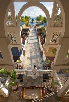 This is the Heritage Le Telfair Resort in Bel Ombre, Mauritius.