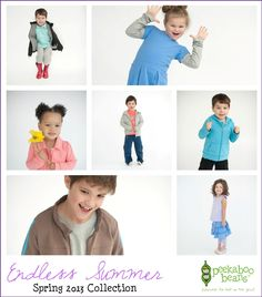 From the Peekaboo Beans Blog: First look at our Spring 2013 Collection. Visit www.peekaboobeans.com to find out more.