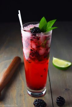 Blackberry Mojito Recipe | Kitchen Swagger