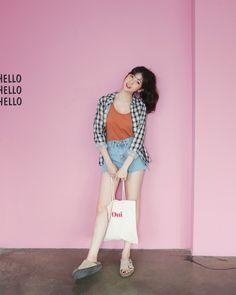 #Dahong style2017 #summerlook #Soyeon(MT)