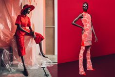 "Nykhor Paul. — ""Red"" - Marie Claire South Africa August 2015"