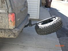 Homebrew Jeep Mods - Page 5 - bike rack tire carrier