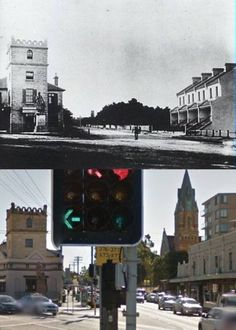 Belmore and Avoca Streets, Randwick c1883>2014. [c1883 - Randwick City Council>2014 - Google Street View. By Phil Harvey]