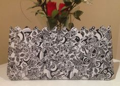Plic alb-negru - CreatiiHandMade   Crafty