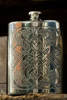 Hey, I found this really awesome Etsy listing at https://www.etsy.com/listing/114576656/celtic-pattern-hip-flask