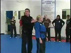 Escape from Hair Grab - Women's Self Defense Seminar - YouTube