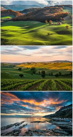 Nature in all her dazzling beauty: Stunning new landscape photos capture the breath-taking countryside of Italy (Le Marche) ...