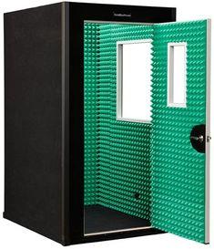 4x5 Gold w/ Green Auralex and Black Exterior