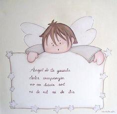 cuadro infantil angel de la guarda - Buscar con Google