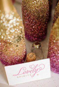 Rosa, Dourado e Muito Brilho! |