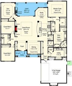 Private Master Retreat & Options - 33077ZR | Architectural Designs - House Plans