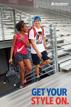Step out in style this school year. Get the hottest looks from the most popular athletic brands at Academy® Sports + Outdoors.
