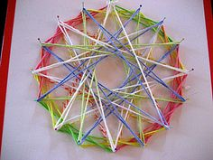 Geometric – String Pattern Art