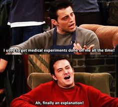 chandler and joey - friends