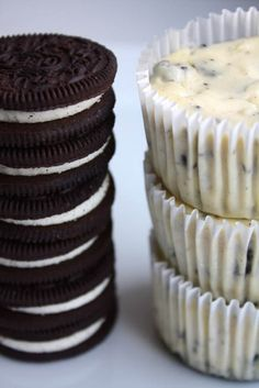 Oreos & Cream Cheesecake Cupcakes. Also, why did it take me 3 days to need a food board but only 5 minutes to need one for clothes?