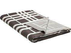 Koc Checker — Narzuty i koce — KARE® Design