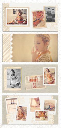photo album layout
